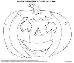 halloween colouring masks u2013 fun for halloween
