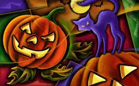 halloween cat wallpaper wallpaper pumpkin halloween cat desktop wallpaper holidays