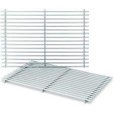 weber 7639 stainless steel cooking grates for spirit 300 series