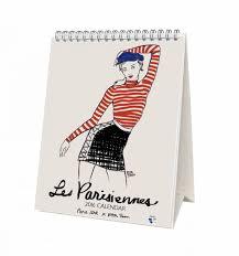 a cheeky french desk calendar a bespoke experience paris art ltd