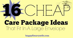 16 cheap care package ideas that fit in a large envelope