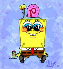 spongebob halloween background kartun gary