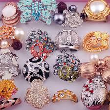 big finger rings images 2018 mix fashion gold silver euro big rings crystal diamond zircon jpg