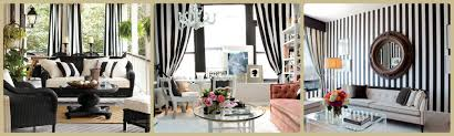 Black And White Stripe Curtains Tropical Home Improvement Ideasblack And White Striped Curtains