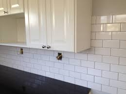 kitchen sink faucet white tile backsplash kitchen subway granite