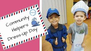 community helpers dress up day slideshow may 2017 youtube