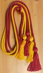 cords for graduation hot pink and gold cord cords honor cords from