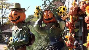 scarecrow halloween decorations disneyland paris halloween decorations youtube