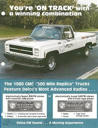 indianapolis 500 official trucks special editions 1974 1984