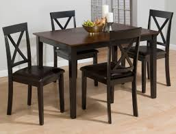 chair boraam farmhouse 5 piece tile top rectangular dining set