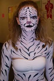 fashion show cat body painting crazyfaces face painting and body