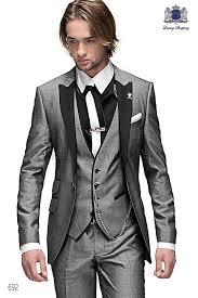 mens light gray 3 piece suit italian light gray men fashion suit 3 pieces 692 ottavio nuccio gala