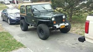 1993 jeep for sale 1993 lift jeep wrangler yj for sale photos technical
