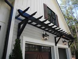 pvc trellis brackets built with structural support cypress