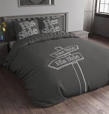 Her Side His Side Comforter Bedding Sets High End Tokida For