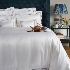 buy gingerlily silk duvet cover silver gray amara