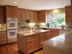 Honey Oak Kitchen Cabinets Backsplash Ideas For Honey Oak Cabinets Kitchen Kitchen