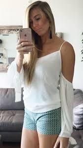 open shoulder blouse hermosa open shoulder blouse white daily chic