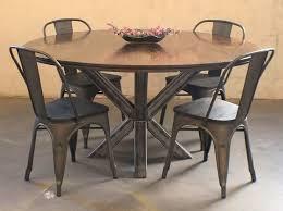 industrial kitchen table furniture interior edmond oklahoma city reclaimed rustic repurposed