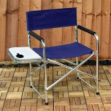 Quest Directors Chair Side Table Amazon Co Uk Folding Chairs Garden U0026 Outdoors