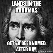 Christopher Columbus Memes - christopher columbus hop project enegren brewing blog