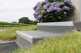 photo terrasse composite lames de revêtement terrasse composite