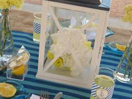 Nautical Baby Shower Centerpieces by Ahoy Baby Lynlees