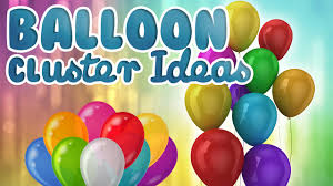 Wall Decoration With Balloons by How To Make A Cluster With 5 Balloons Balloon Cluster Ideas