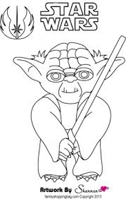 yoda coloring star wars coloring pages free printable
