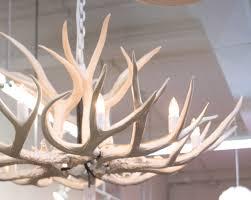 Deer Antler Ceiling Fan Light Kit L Lighting Authentic Looking Deer Antler Chandelier For Your