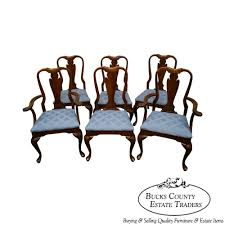 Cherry Dining Chair 9757ax Crescent Solid Cherry Set Of 6 Traditional Style