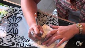 bisque imports presents 6 easy ways to use crafter s work stencils you