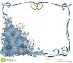 wedding invitation border blue hibiscus stock photo image 9258570
