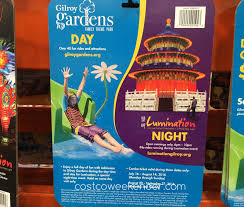 gilroy gardens family theme park gilroy gardens lumination day and night combo ticket 2016
