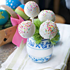 easter cakepops easter cake pops loaves and dishes