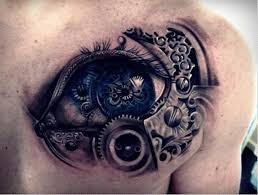 mechanical eye tattoo tattoos book 65 000 tattoos designs
