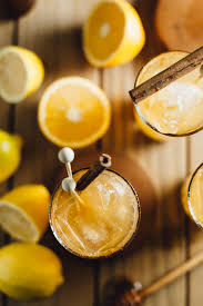 french 75 recipe spiced honey and citrus cocktails with mixedwithtrop alyssa and