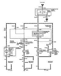 acura integra 1994 wiring diagrams turn signal l