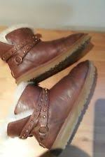 ugg womens emerson boots chestnut ugg australia ankle 100 leather boots for ebay