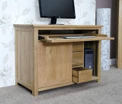 Tesco Computer Desk Mesmerizing Hideaway Computer Desk Large Solid Pine Computer