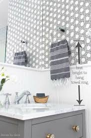 proper height to hang pictures on wall must have measurements for your bathroom how high to hang your