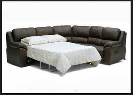 Leather Sleeper Sofas Awesome Outstanding Sectional With Sleeper Sofa Leather Within