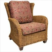 Wingback Wicker Chair Wingback Indoor Wicker Chairs