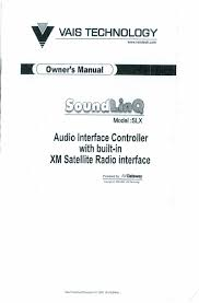 soundgate toyxmv6 factory radio xm stereo aux input controller