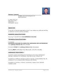 Career Objective For Freshers In Resume For Cse Resume Template Docx Download Sample Resume Doc Resume Cv Cover