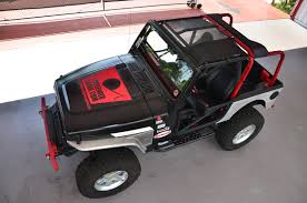 pink jeep rubicon tjkini spiderwebshade