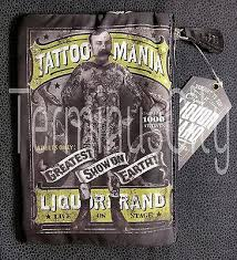 liquor brand tattoo mania cosmetic bag u2013 terminus city gifts