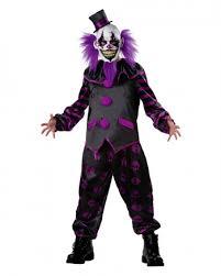 killer clown costume horror clown costume with mask horror panel horror shop