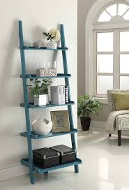 Leaning Ladder Bookcases by Amazon Com Convenience Concepts French Country Bookshelf Ladder