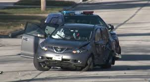 police vehicle stolen from germantown involved in crash in